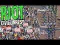 Riot: Civil Unrest - Police and Civilians - Amazing Riot Simulator! - Riot: Civil Unrest Gameplay