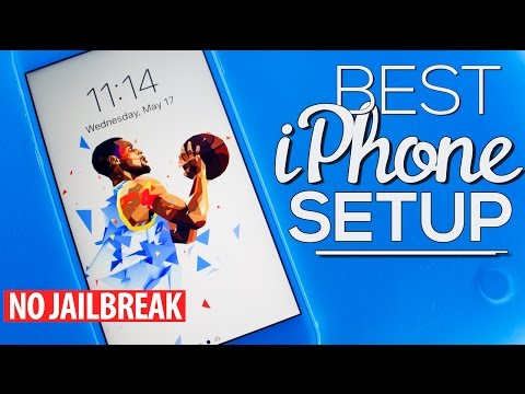 The BEST iPhone SETUP 3! (NO JAILBREAK) (NO COMPUTER) (AD)