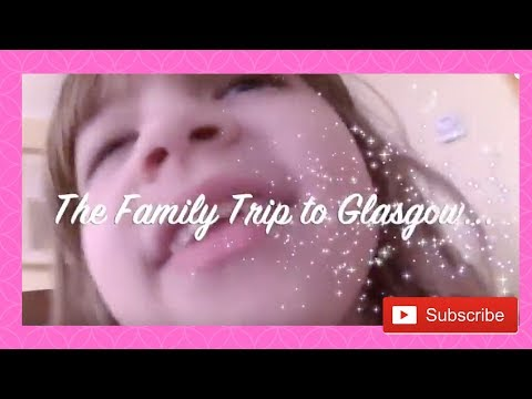 Our Family trip to Glasgow... Toys shops, Hard rock cafe and more...