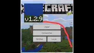 ⭐️Nova Versão Minecraft 1.2.9 Oficial❕ Com Nova Opção📥
