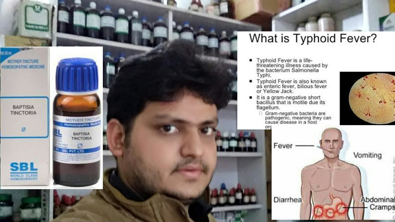 Homeopathic medicine for typhoid fever? explain!