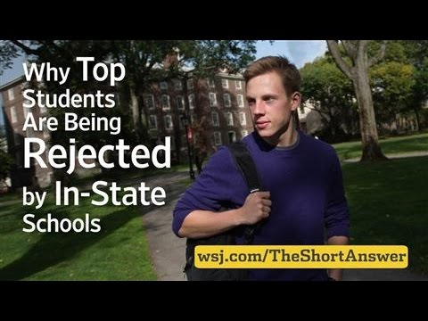 Why Top Students Are Being Rejected by In-State Schools