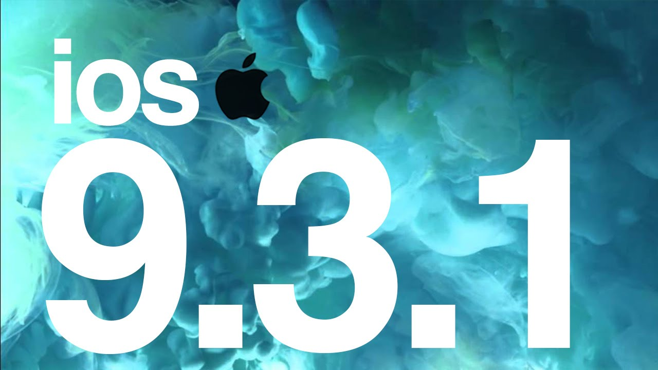 Iphone Update 9.3