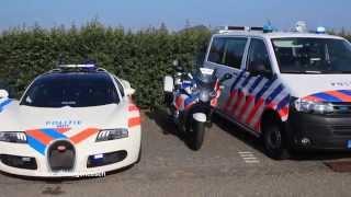 17-09-2014: Politie Delft neemt Bugatti Veyron in gebruik
