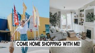 FOLLOW ME AROUND IKEA AND HOMESENSE AND HAUL | HOME SHOPPING | KATE MURNANE