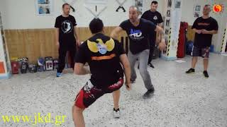 Knife Defense Seminar In Athens Greece with Nick Drossos