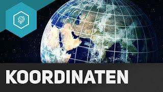 Koordinaten und das Gradnetz der Erde - Unser Planet 2 ● Gehe auf SIMPLECLUB.DE/GO