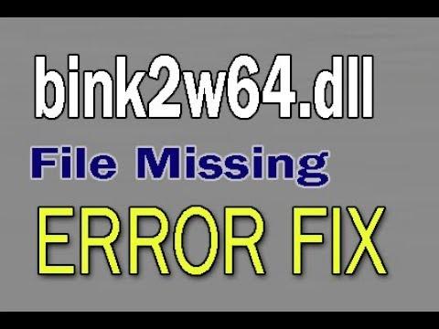 Fix Binkw Dll File Missing In Gta  Error