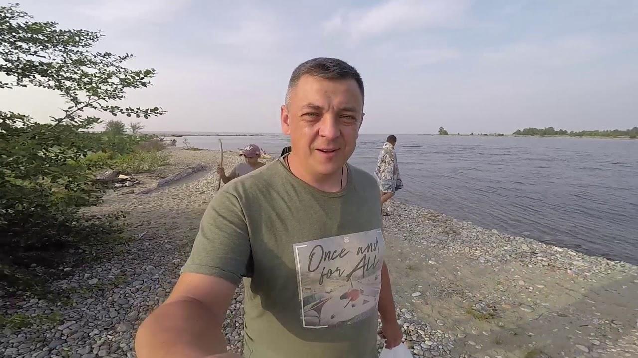 Шторм на Байкале. Семейный отдых 2019. Граница Иркутской области и Бурятии.