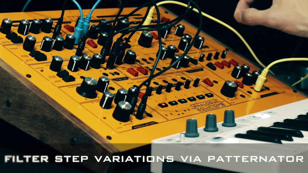 hight resolution of analogue solutions fusebox synth playing halo bass line