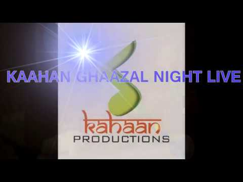 KHAAN GHAAZAL NIGHT