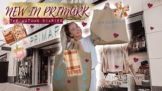 NEW IN PRIMARK AUTUMN 2019: Knitwear, Coats, Pyjamas, Accessories, Boots, Homeware | AUTUMN DIARIES