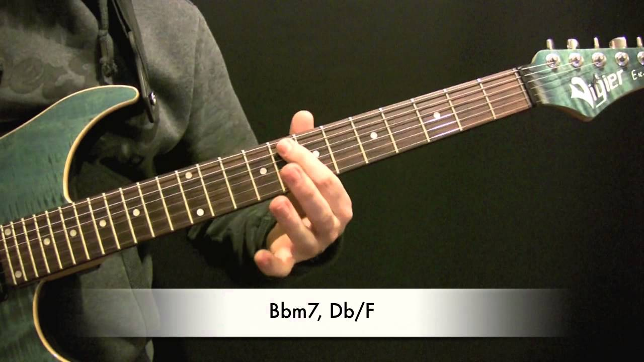 George Benson Give Me The Night Guitar Tutorial Chords Youtube