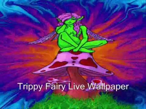 Trippy Fairy Live Wallpaper