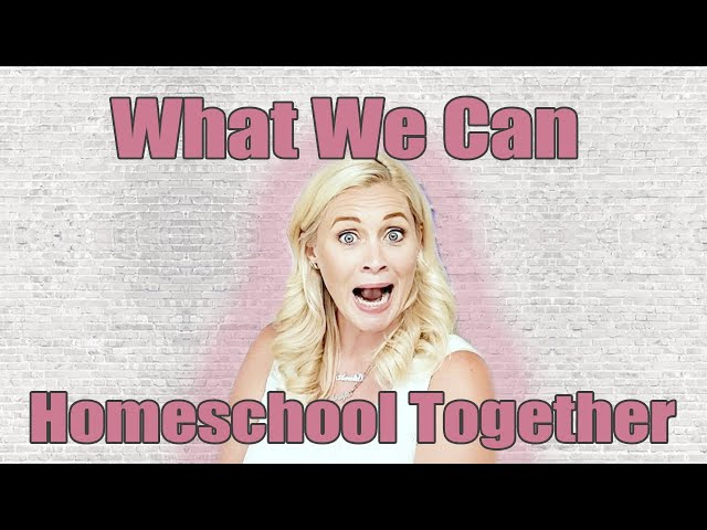 WHAT WE CAN HOMESCHOOL TOGETHER | What We Plan to Combine for a 3rd & Pre K | Secular Curriculum