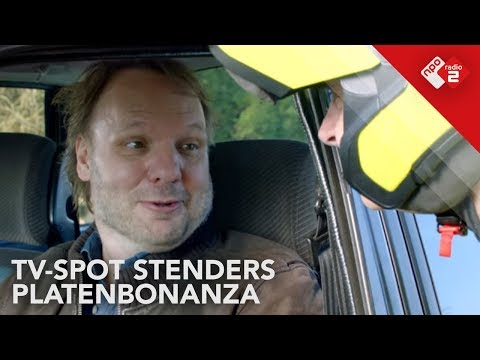 Must Watch: Funny TV-spot Stenders Platenbonanza | NPO Radio 2