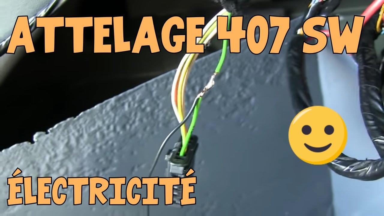 Tutoriel 407 05 montage attelage 2 sur 2 youtube for Interieur 407 sw