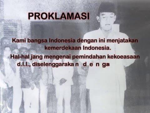 Teks Proklamasi