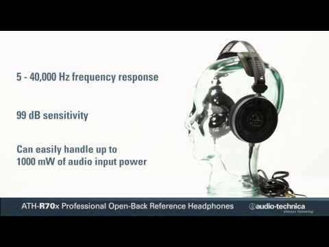 ATH-R70x Professional Open-Back Reference Headphones