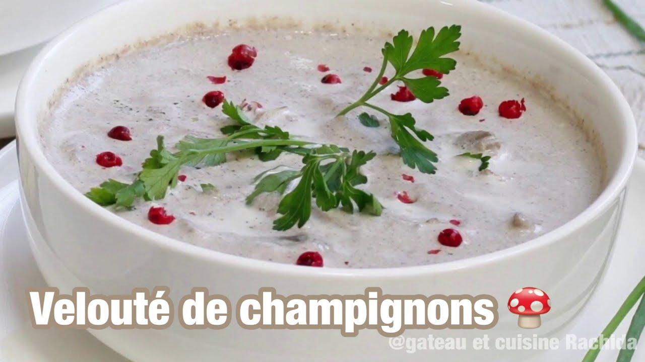 Délicieuse Soupe , velouté de champignons / ramadan