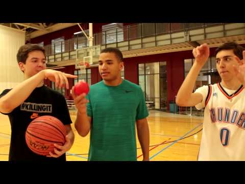 3 POINT BASKETBALL SHOOTOUT W/ TD AND LOST