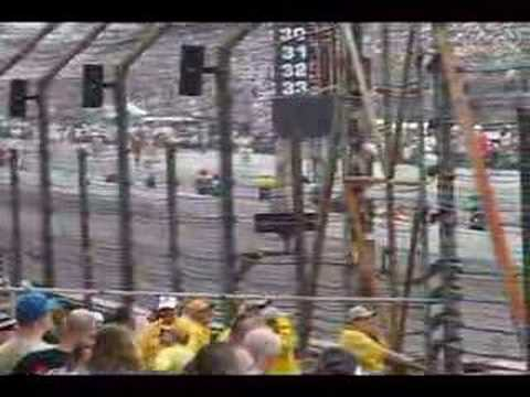 2007 Indy 500 Lap 1