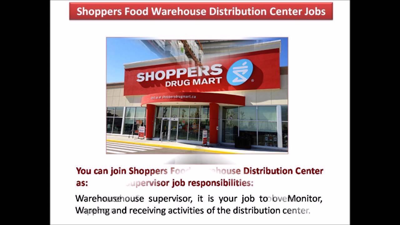 Receiving Supervisor Jobs receiving supervisor Shoppers Food Warehouse Distribution Center Jobs Youtube