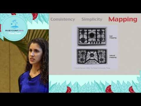 Ruby Conf 2013 - API design for gem authors (and users)