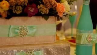 видео Как сделать свадьбу в мятном цвете. Идеи оформления