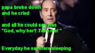 papa - paul anka live version - karaoke