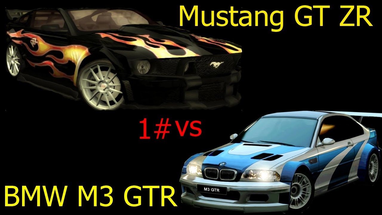 Ford Mustang Gt Vs Bmw M3 Gtr