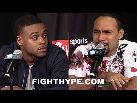 ERROL SPENCE JR. TELLS THURMAN HE'S BEEN MAKING EXCUSES, READY NOW; THURMAN GETS PUMPED & RESPONDS