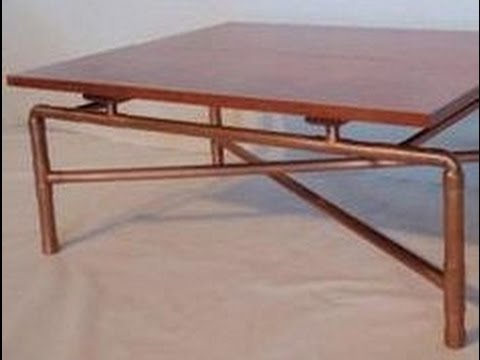 Copper Tube Table Top Ideas