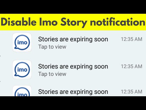 How To Disable/Stop Stories Are Expiring Soon On IMO-Remove Friends Of Friends Imo Story