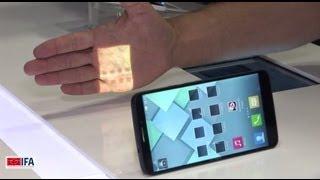 Alcatel One Touch idol X, Hero и мобильный проектор