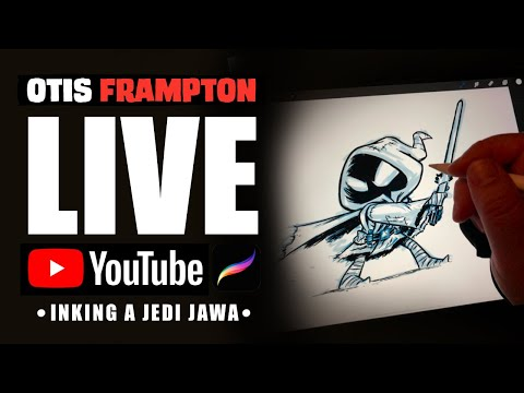 Otis Frampton LIVE - July 8th, 2019 - Inking A Jedi Jawa