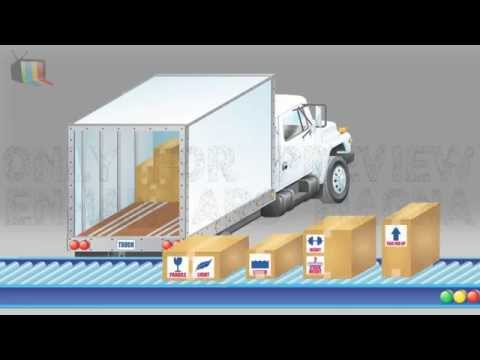 Logistics Company : Animation Presentation Film