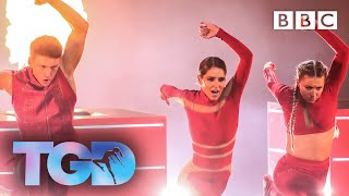 Harry and Eleiyah on fire with Cheryl - The Greatest Dancer Final | LIVE