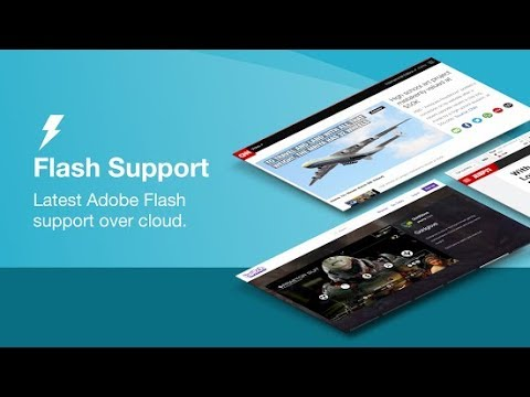 Browsers Support Flash Player For Android