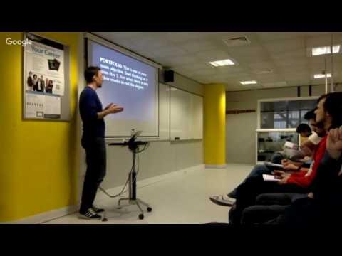 The Professional Future in Videogames, Ivan Barroso