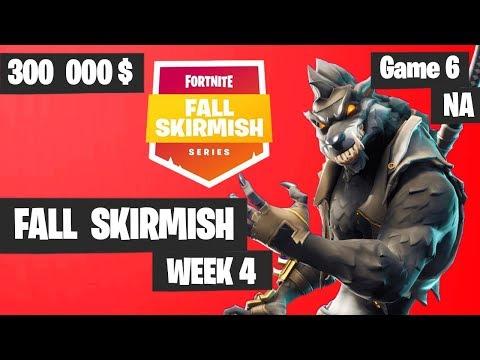 Fortnite Fall Skirmish Week 4 Game 6 NA Highlights (Group 2) - Big Bonus [Tfue or Vivid]