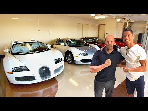 Cristiano Ronaldo's Cars VS Jason Statham's Cars ★ 2018
