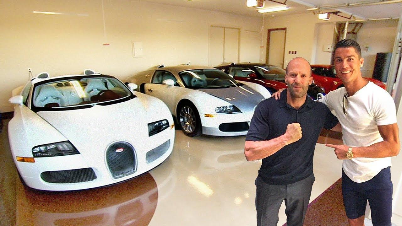 Автомобилите на Кристиано Роналдо срещу Автомобилите на Джейсън Стейтъм
