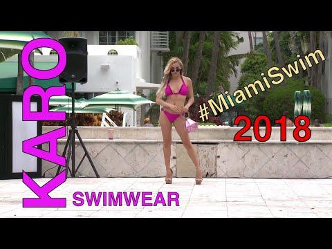 KARO Swimwear S/S 2018 Collection Runway Show @ Miami Swim Fashion Week - FUNKSHION