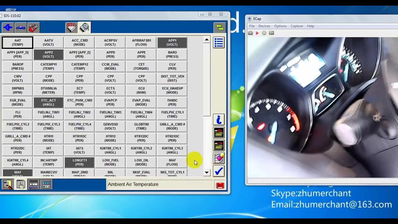SVCI J2534 diagnostic Ford focus