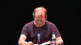 Peter Wawerzinek im Maxim-Gork-Theater Berlin