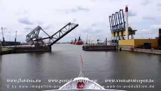 Hafen von Antwerpen - Belgien - Hafenrundfahrt - Port of Antwerp - Belgium - im Mai 2014