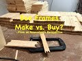 Building Bee Frames - Make vs. Buy - From an Accountant's Perspective