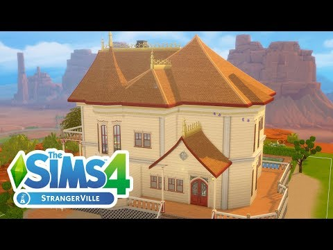 Building a Victorian House in The Sims 4: StrangerVille (Streamed 2/25/19)