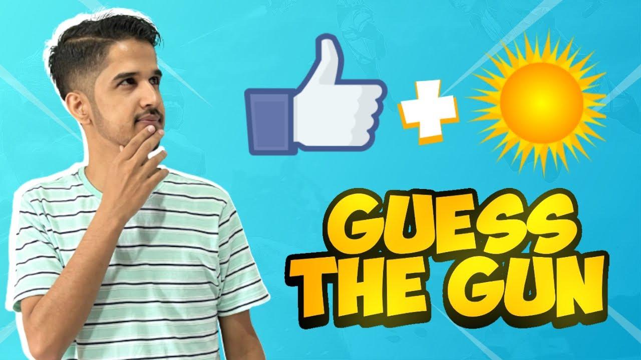 Guess The Gun By Emoji Challenge || Desi Gamers